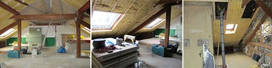 dachgeschossausbau dachdecker delvos. Black Bedroom Furniture Sets. Home Design Ideas
